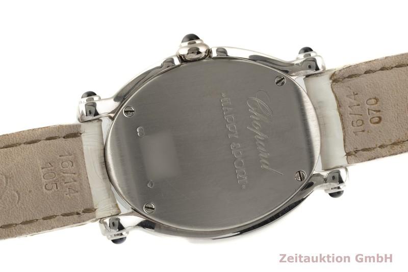 gebrauchte Luxusuhr Chopard Happy Sport 18k Weissgold Quarz Ref. 27/7012-23  | 2007590 _1