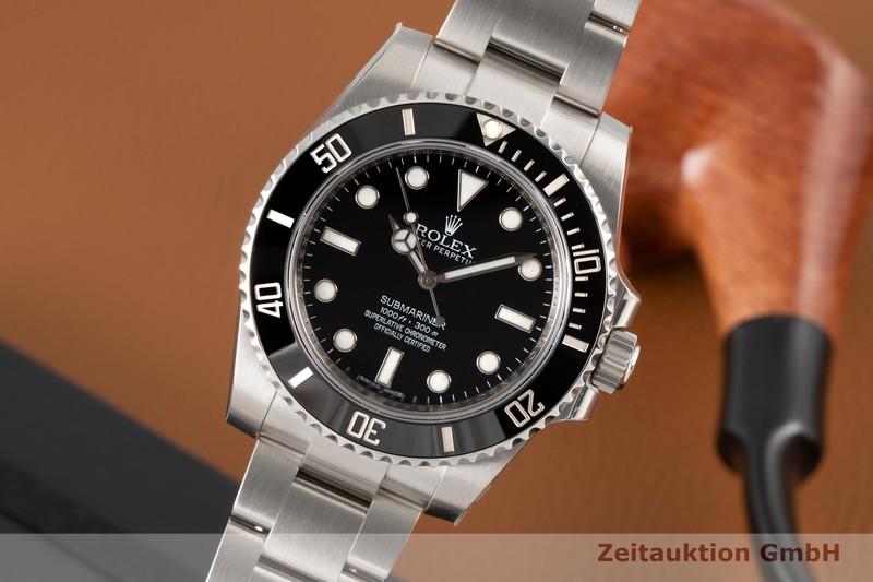 gebrauchte Luxusuhr Rolex Submariner Stahl Automatik Kal. 3130 Ref. 114060  | 2007621 _0