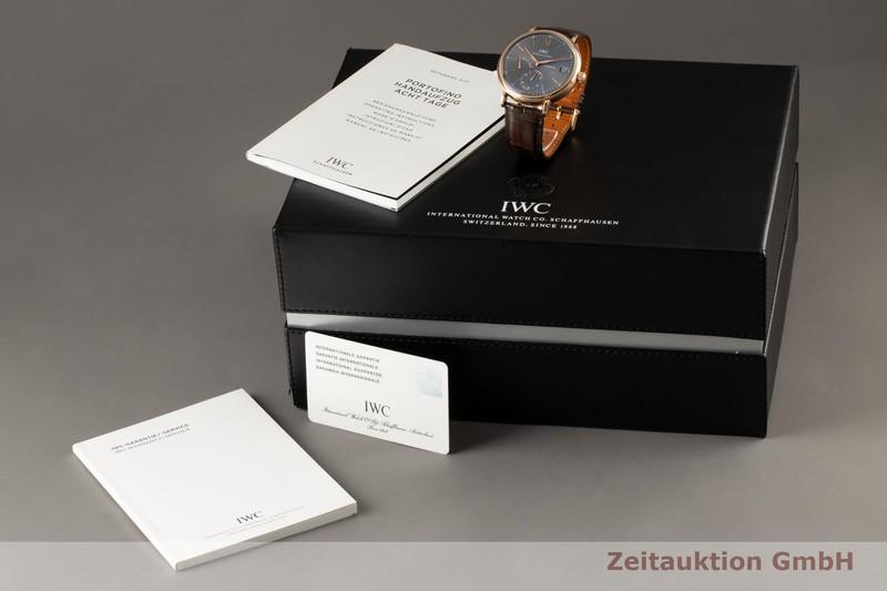 gebrauchte Luxusuhr IWC Portofino 18k Rotgold Handaufzug Kal. 59210 Ref. IW510104    2007629 _0