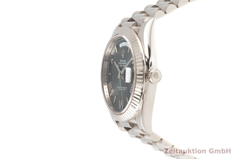 gebrauchte Luxusuhr Rolex Day-Date 18k Weissgold Automatik Kal. 3255 Ref. 228239  | 2007648 _0