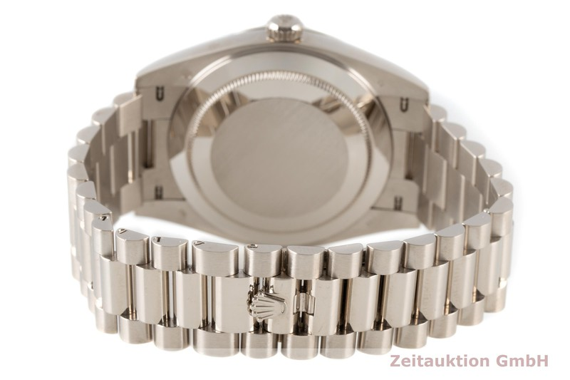 gebrauchte Luxusuhr Rolex Day-Date 18k Weissgold Automatik Kal. 3255 Ref. 228239  | 2007648 _1