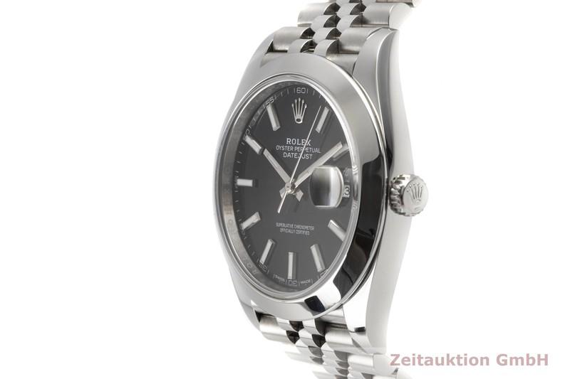 gebrauchte Luxusuhr Rolex Datejust Stahl Automatik Kal. 3235 Ref. 126300  | 2007671 _0