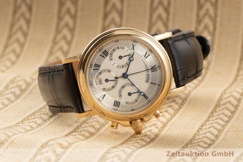 gebrauchte Luxusuhr Breguet Marine Chronograph 18k Gold Automatik Kal. 576  | 2007688 _0