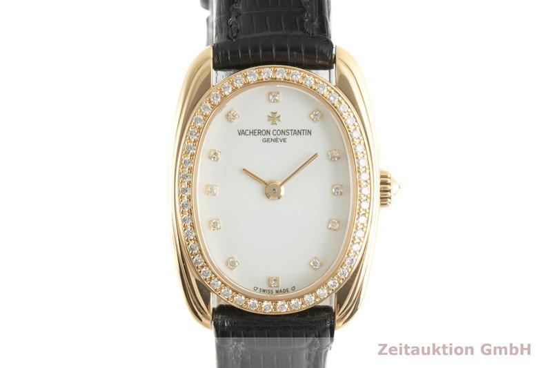 gebrauchte Luxusuhr Vacheron & Constantin Historiques 18k Gold Handaufzug Kal. 1055 Ref. 10110  | 2007689 _0