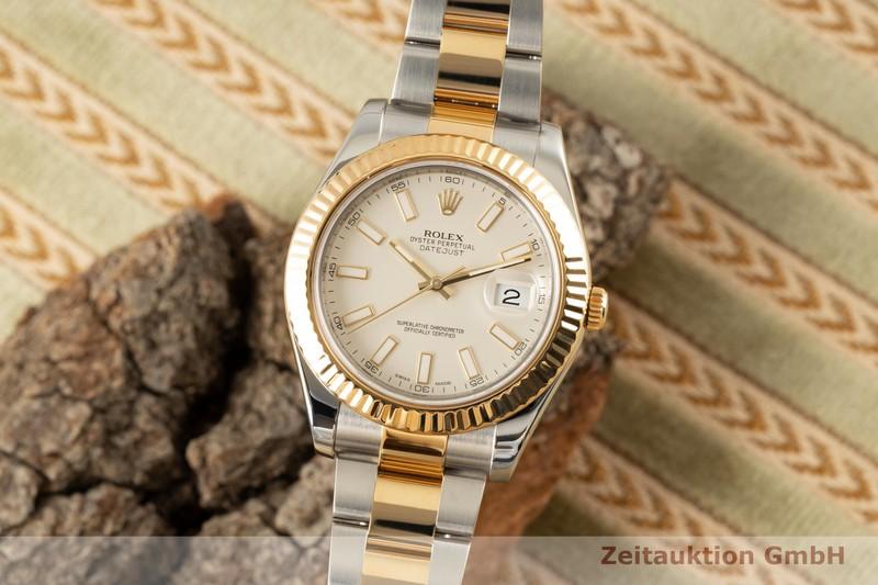 gebrauchte Luxusuhr Rolex Datejust Stahl / Gold Automatik Kal. 3136 Ref. 116333  | 2007709 _0