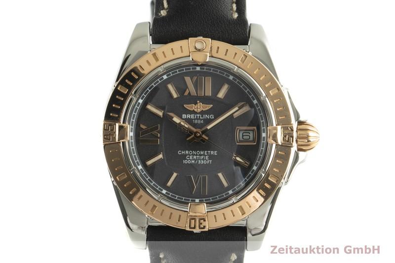 gebrauchte Luxusuhr Breitling Galactic Stahl / Gold Quarz Kal. B71 Ref. C71356  | 2007719 _0