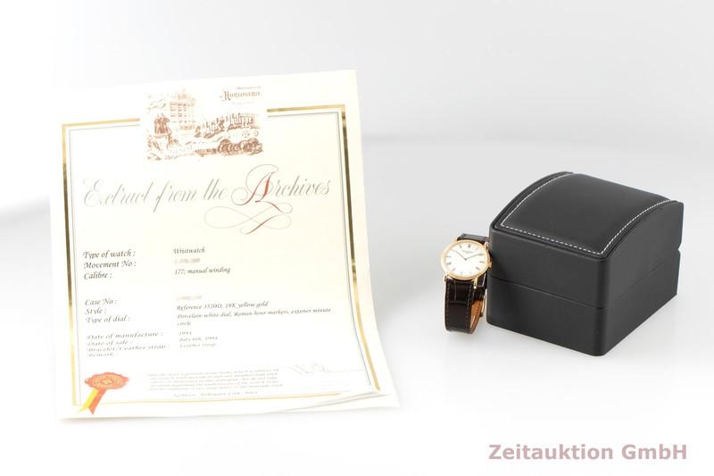 gebrauchte Luxusuhr Patek Philippe Calatrava 18k Gold Handaufzug Kal. 177 Ref. 3520/D  | 2007723 _0