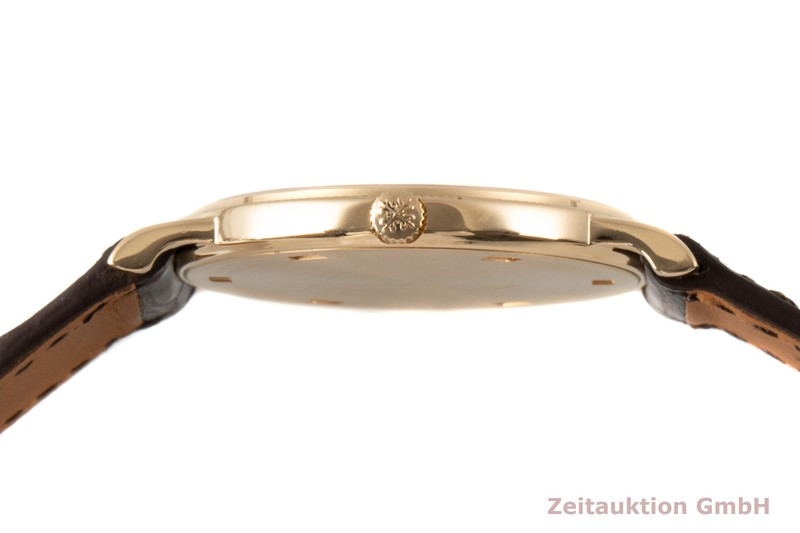gebrauchte Luxusuhr Patek Philippe Calatrava 18k Gold Handaufzug Kal. 177 Ref. 3520/D  | 2007723 _1
