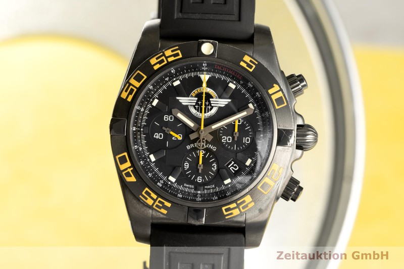 gebrauchte Luxusuhr Breitling Chronomat 44 Chronograph Stahl Automatik Kal. B01 Ref. MB0110 LIMITED EDITION | 2007732 _0