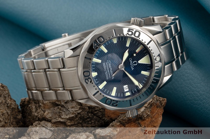 gebrauchte Luxusuhr Omega Seamaster Stahl Quarz Kal. 1538 Ref. 2263.80.00, 196.1641  | 2007740 _0