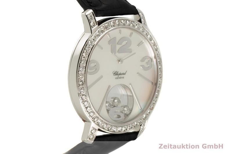 gebrauchte Luxusuhr Chopard Happy Diamonds 18k Weissgold Quarz Ref. 20/7449  | 2007750 _0