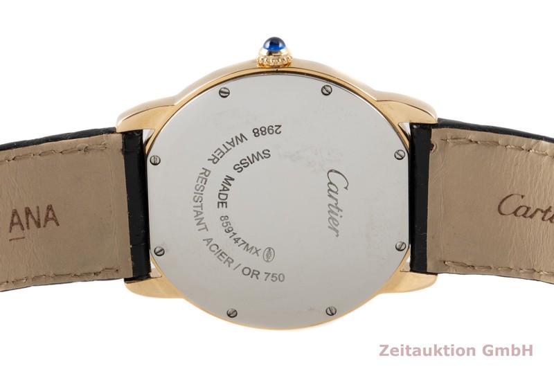 gebrauchte Luxusuhr Cartier Ronde Solo 18k Gold Quarz Kal. 115A Ref. 2988  | 2007773 _1