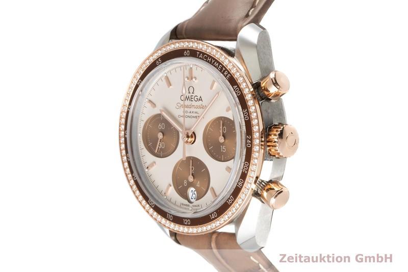 gebrauchte Luxusuhr Omega Speedmaster Chronograph Stahl / Gold Automatik Kal. 3330 Ref. 324.28.38.50.02.002  | 2007778 _0