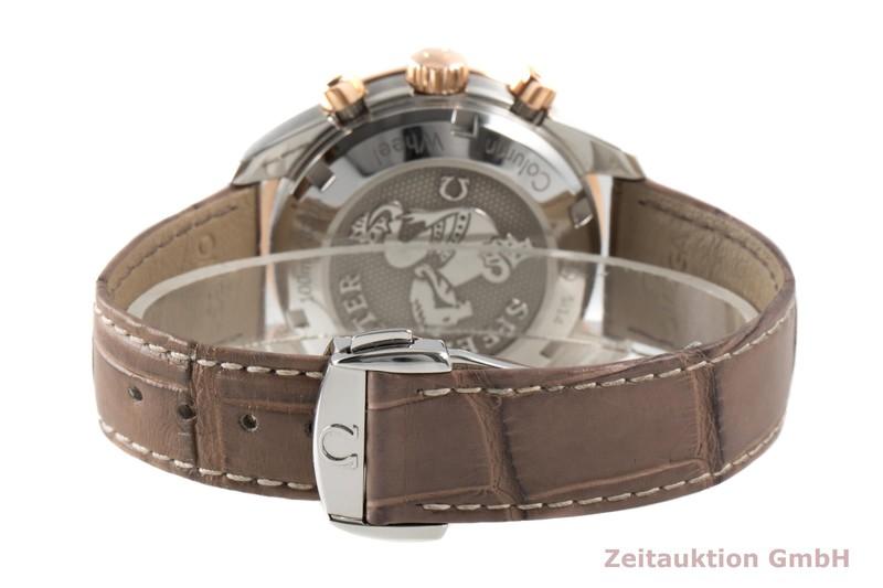 gebrauchte Luxusuhr Omega Speedmaster Chronograph Stahl / Gold Automatik Kal. 3330 Ref. 324.28.38.50.02.002  | 2007778 _1