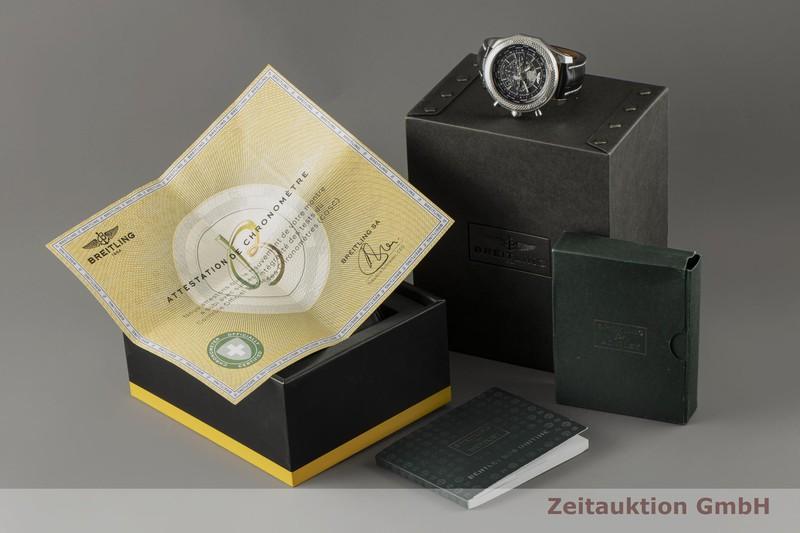 gebrauchte Luxusuhr Breitling Bentley Chronograph Stahl Automatik Kal. B05 Ref. AB0521  | 2100014 _0
