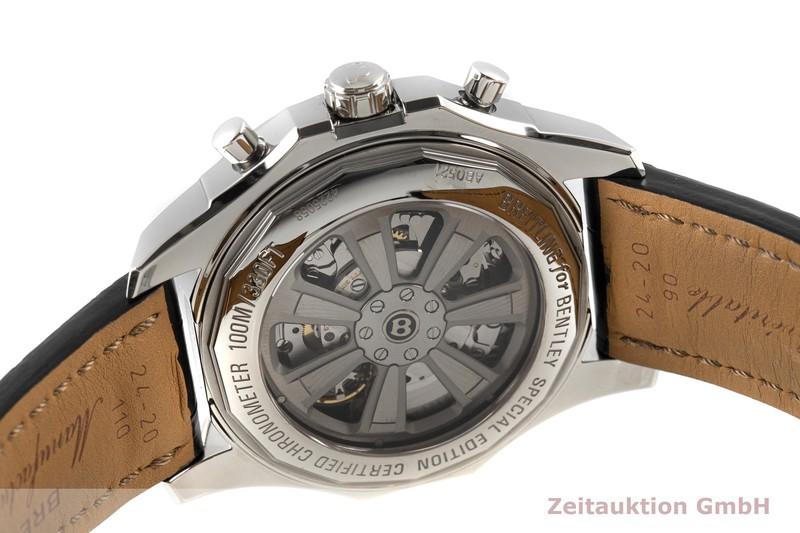 gebrauchte Luxusuhr Breitling Bentley Chronograph Stahl Automatik Kal. B05 Ref. AB0521  | 2100014 _1