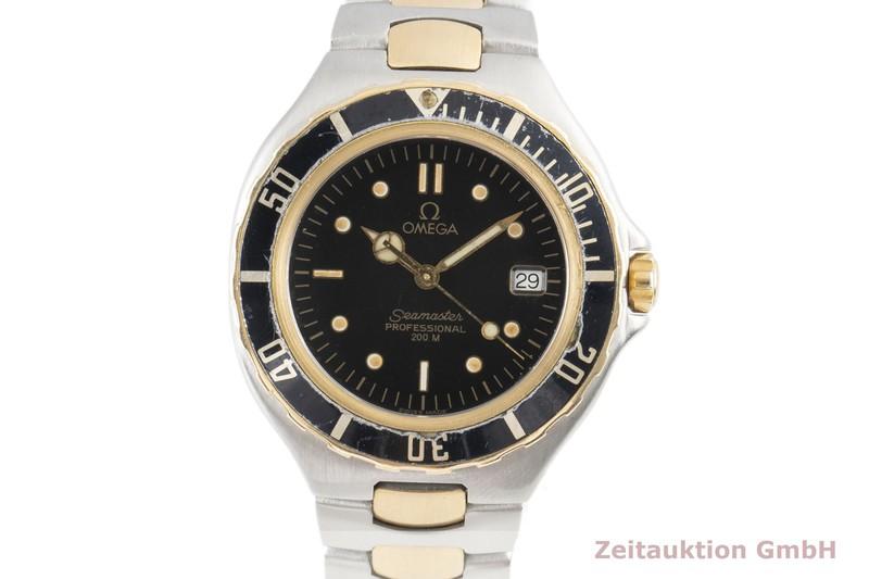 gebrauchte Luxusuhr Omega Seamaster Stahl / Gold Quarz Ref. 396.1042.1  | 2100017 _0