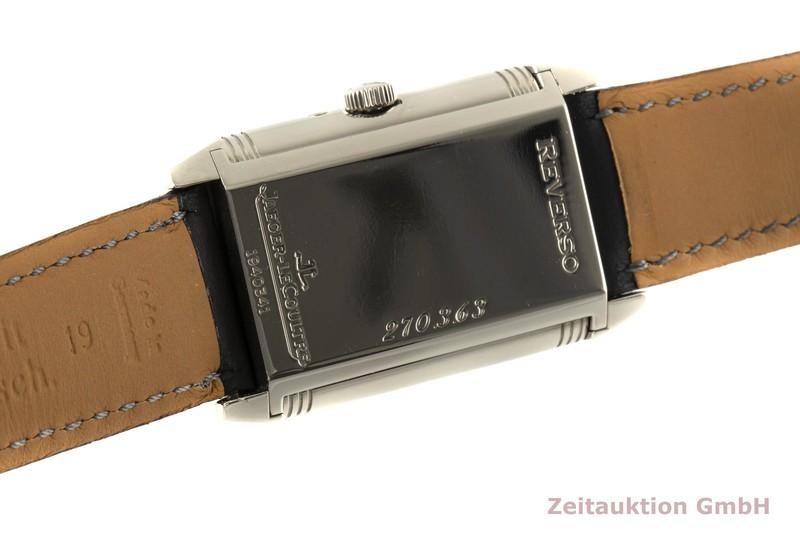 gebrauchte Luxusuhr Jaeger LeCoultre Reverso 18k Weissgold Handaufzug Kal. 823 Ref. 270.3.63  | 2100024 _1