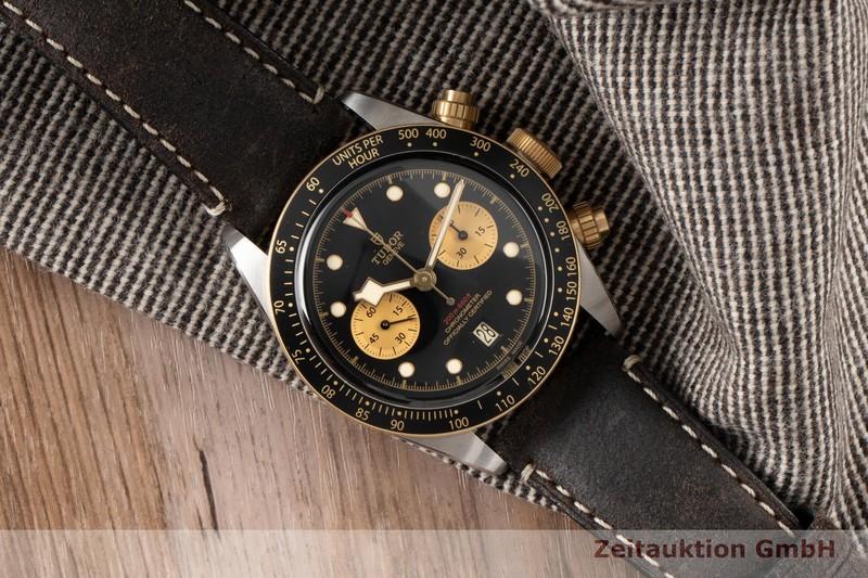 gebrauchte Luxusuhr Tudor Black Bay Chronograph Stahl / Gold Automatik Ref. 79363N  | 2100026 _0