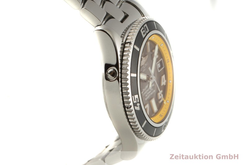 gebrauchte Luxusuhr Breitling Superocean Stahl Automatik Kal. B17 Ref. A17364  | 2100042 _0