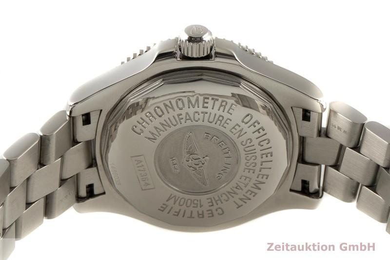 gebrauchte Luxusuhr Breitling Superocean Stahl Automatik Kal. B17 Ref. A17364  | 2100042 _1