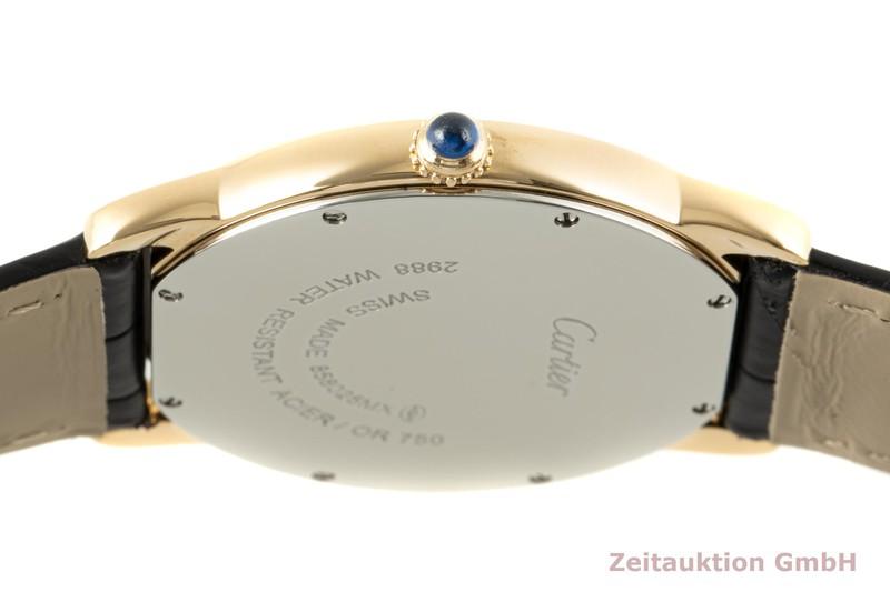 gebrauchte Luxusuhr Cartier Ronde Solo 18k Gold Quarz Kal. 115A Ref. W6700455, 2988    2100049 _1