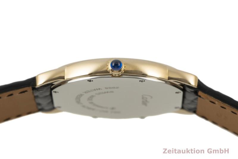 gebrauchte Luxusuhr Cartier Ronde Solo 18k Gold Quarz Kal. 113A Ref. 2988  | 2100052 _1