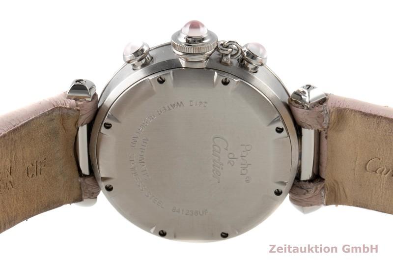 gebrauchte Luxusuhr Cartier Pasha Chronograph Stahl Automatik Kal. 047 Ref. 2412  | 2100058 _1