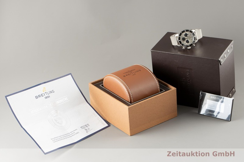 gebrauchte Luxusuhr Breitling Superocean Chronograph Keramik / Stahl Automatik Kal. B01 Ref. AB0162    2100059 _0