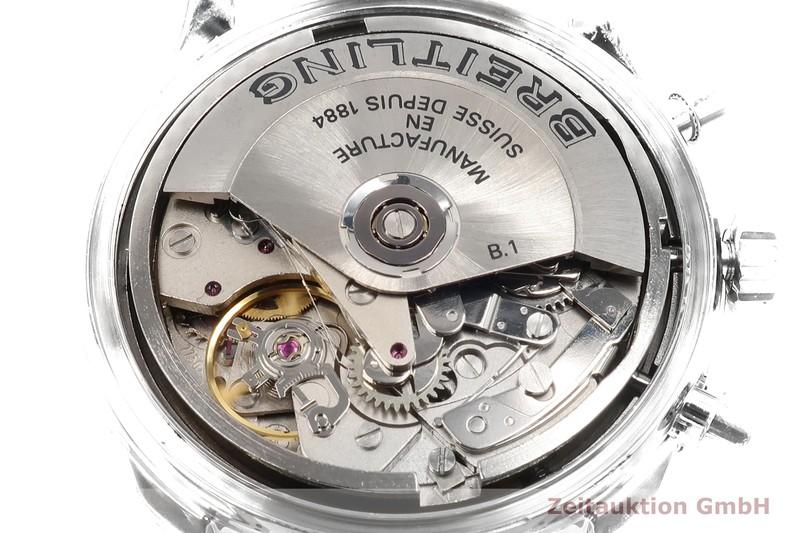 gebrauchte Luxusuhr Breitling Old Navitimer Chronograph Stahl / Gold Automatik Ref. D13022  | 2100060 _1