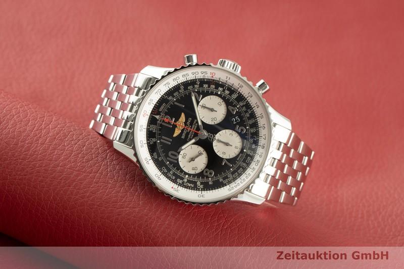 gebrauchte Luxusuhr Breitling Navitimer Chronograph Stahl Automatik Kal. B01 Ref. AB0120  | 2100062 _0