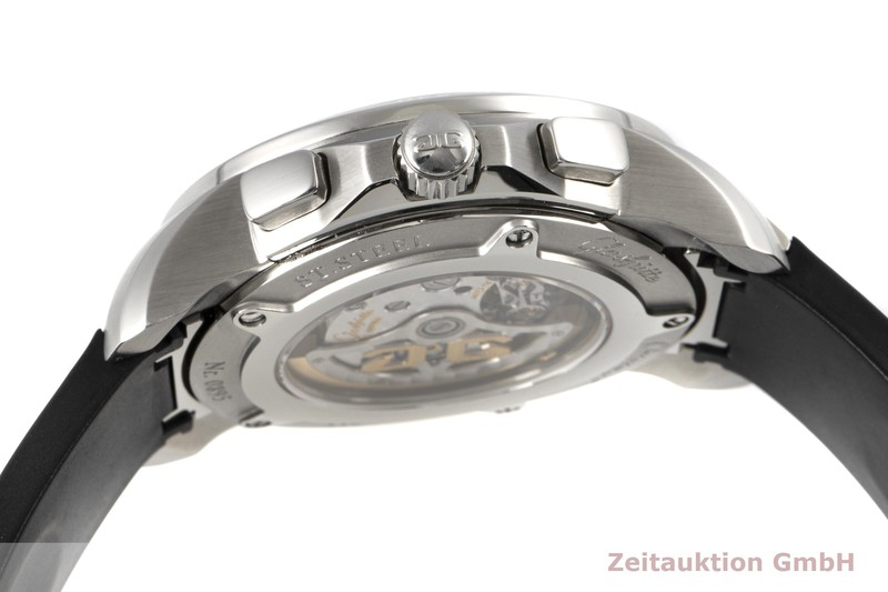 gebrauchte Luxusuhr Glashütte Sport Evolution  Chronograph Stahl Automatik Kal. 39  | 2100079 _1
