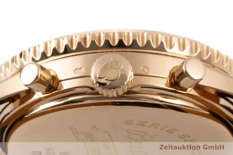 gebrauchte Luxusuhr Breitling Montbrillant Chronograph 18k Gold Automatik Ref. H41030  | 2100089 _1