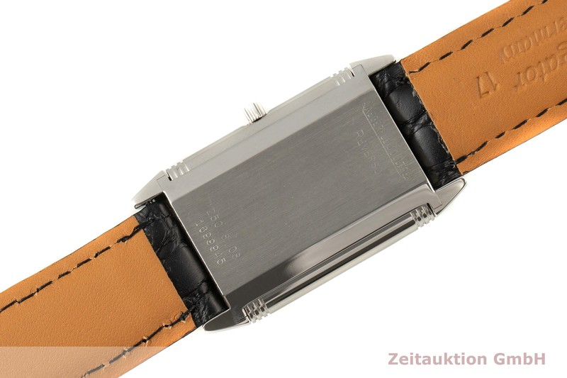 gebrauchte Luxusuhr Jaeger LeCoultre Reverso Stahl Quarz Kal. 608 Ref. 250.8.08    2100094 _1