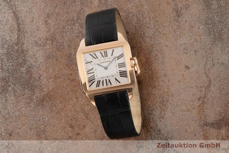 gebrauchte Luxusuhr Cartier Santos Dumont 18k Rotgold Handaufzug Kal. 430MC Ref. 2650  | 2100102 _0