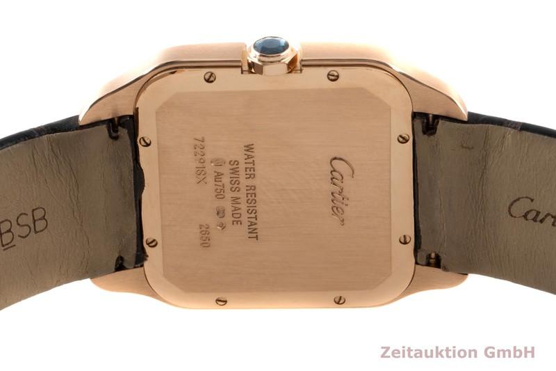 gebrauchte Luxusuhr Cartier Santos Dumont 18k Rotgold Handaufzug Kal. 430MC Ref. 2650  | 2100102 _1
