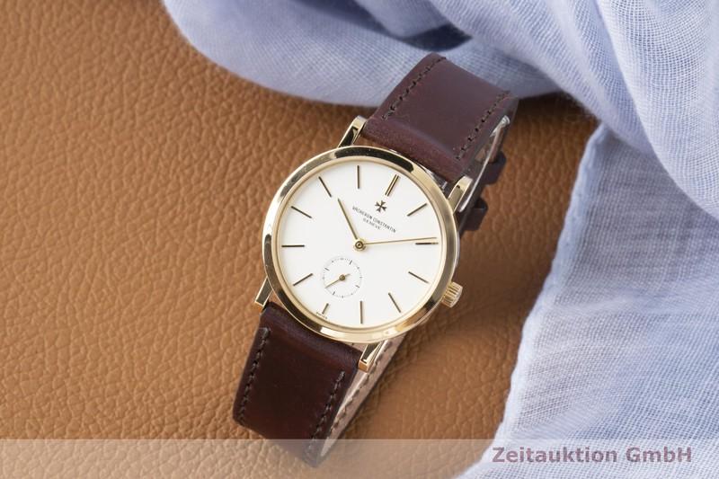 gebrauchte Luxusuhr Vacheron & Constantin Patrimony 18k Gold Handaufzug Kal. 1014/1 Ref. 92240/2  | 2100112 _0