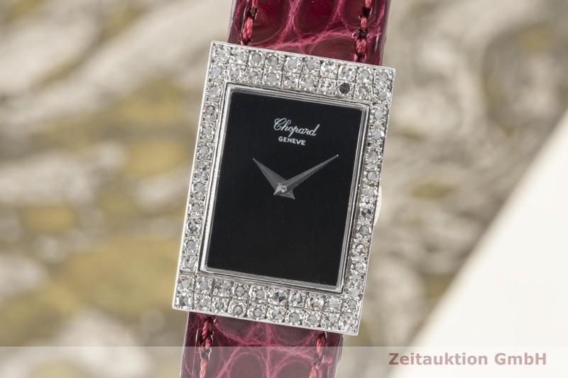 gebrauchte Luxusuhr Chopard Geneve 18k Weissgold Handaufzug Kal. AS1977-2 Ref. G29641    2100122 _0