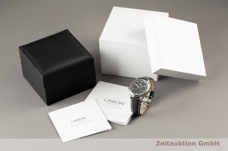 gebrauchte Luxusuhr Union Glashütte Diplomat Stahl Automatik Kal. 26 Ref. 2602020210 LIMITED EDITION | 2100129 _0