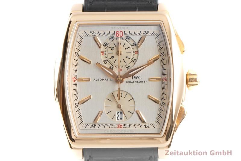 gebrauchte Luxusuhr IWC Da Vinci Chronograph 18k Gold Automatik Kal. 89360 Ref. 3764  | 2100146 _0