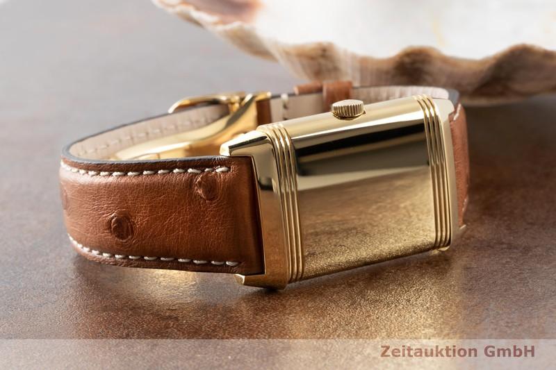 gebrauchte Luxusuhr Jaeger LeCoultre Reverso 18k Gold Handaufzug Kal. 822 Ref. 270.1.62  | 2100191 _0