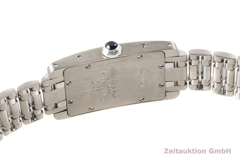 gebrauchte Luxusuhr Cartier Tank Américaine 18k Weissgold Quarz Kal. 157 Ref. W26019L1, 1713  | 2100192 _1