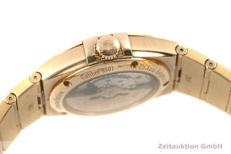 gebrauchte Luxusuhr Omega Constellation 18k Gold Automatik Kal. 8501 Ref. 123.50.38.21.02.001  | 2100196 _1