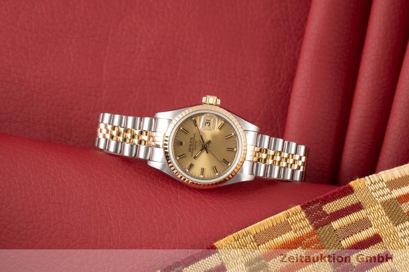 gebrauchte Luxusuhr Rolex Lady Date Stahl / Gold Automatik Kal. 2135 Ref. 69173  | 2100209 _0