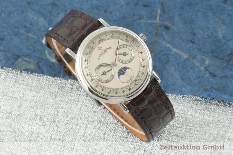 gebrauchte Luxusuhr Vacheron & Constantin Patrimony 18k Weissgold Automatik Kal. 1126 Ref. 47052/000G-7964  | 2100264 _0
