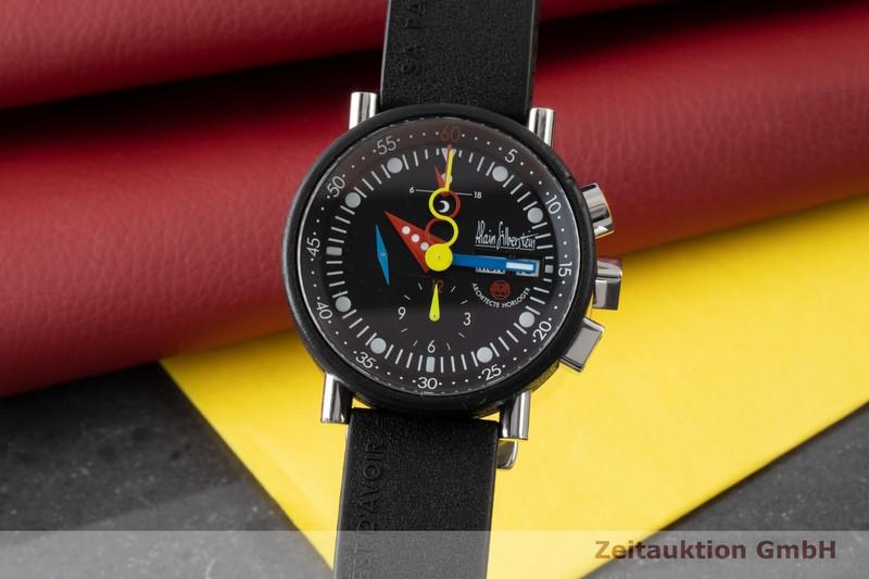 gebrauchte Luxusuhr Alain Silberstein Krono Bauhaus Chronograph Stahl / Kautschuk Automatik Kal. LWO 5100 LIMITED EDITION   2100272 _0