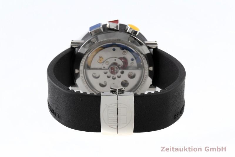 gebrauchte Luxusuhr Alain Silberstein Krono Bauhaus Chronograph Stahl / Kautschuk Automatik Kal. LWO 5100 LIMITED EDITION   2100272 _1