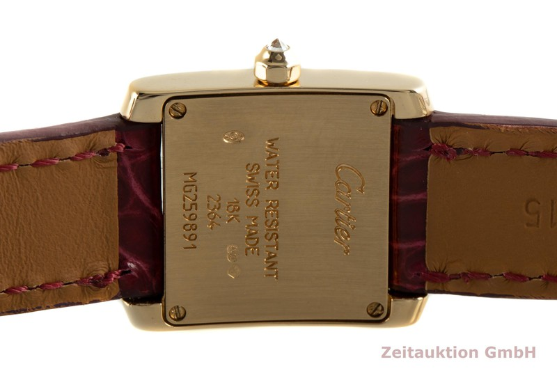 gebrauchte Luxusuhr Cartier Tank Francaise 18k Gold Quarz Kal. 016 Ref. 2364  | 2100283 _1
