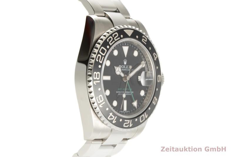 gebrauchte Luxusuhr Rolex GMT Master II Stahl Automatik Kal. 3186 Ref. 116710  | 2100285 _0