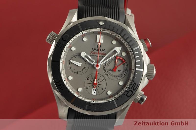 gebrauchte Luxusuhr Omega Seamaster Chronograph Keramik / Titan Automatik Kal. 3330 Ref. 212.92.44.50.99.001, TIZ003087  | 2100288 _0